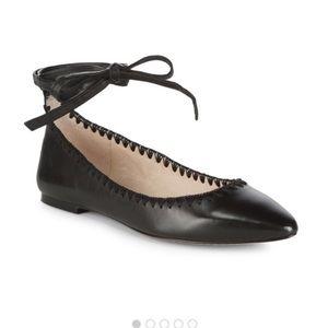 """VINCE CAMUTO """"Braneeda"""" Black Ballet Loafer-10M"""